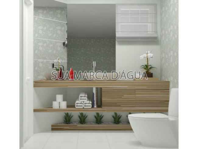 Banheiro - Apartamento para venda e aluguel Rua Guaíra,Vila Sarapuí, Duque de Caxias - 000233 - 6